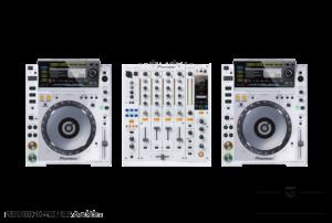 Pioneer CDJ2000 White, DJM900 Nexus White [BIG] - szervezdvelem.hu